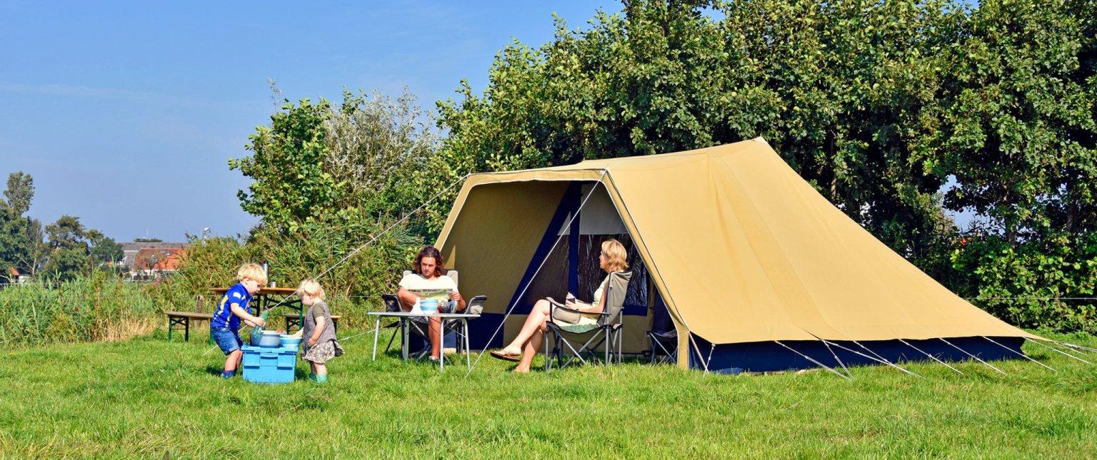 Luxe Tent huren 6-personen